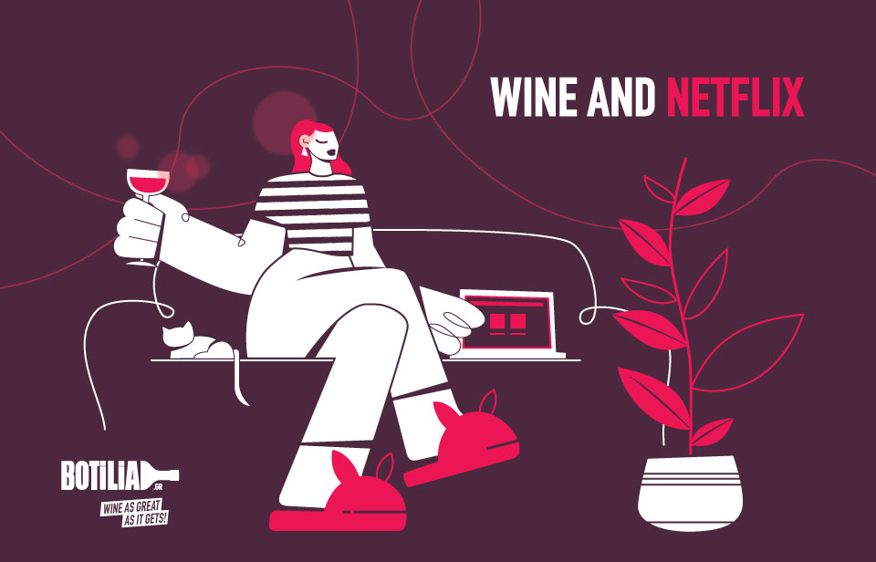 5+1  Netflix series you should watch and their wine partners