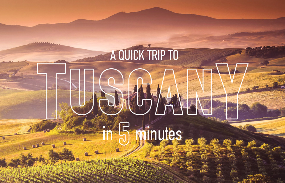 Tuscany: Everything you need to know about her wines in 5 minutes