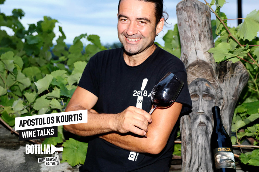 Wine Talks: Apostolos Kourtis