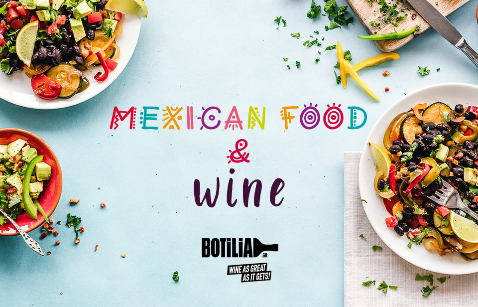 Mexican food and wine